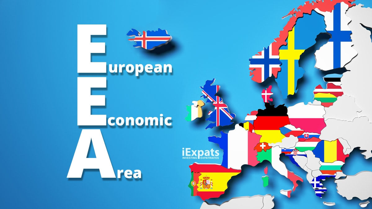 European Economic Area (EEA) map